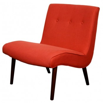 Alexis Fabric Chair, Paprika by NPD (New Pacific Direct)