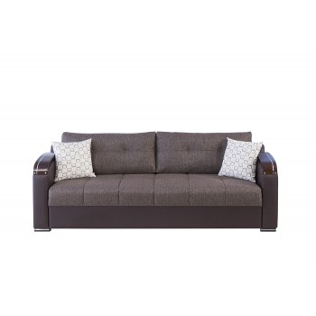 Divan Deluxe Sofa, Kalinka Brown by Casamode
