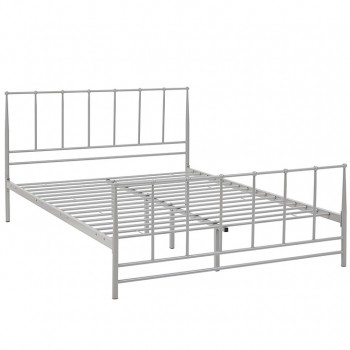Estate Full Bed, Gray by Modway