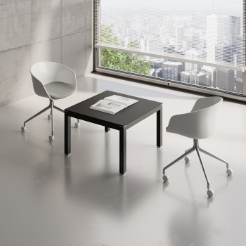 Impuls Small Table IM57, All Black