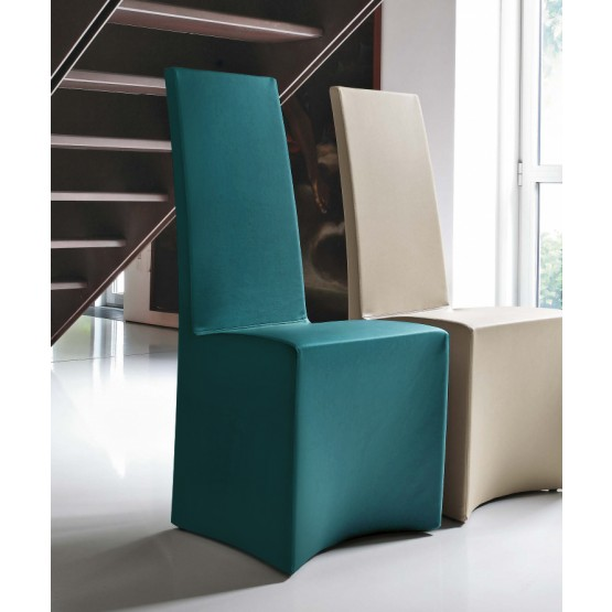 Sorbona Dining Chair, Turquoise Blue Eco-Leather photo
