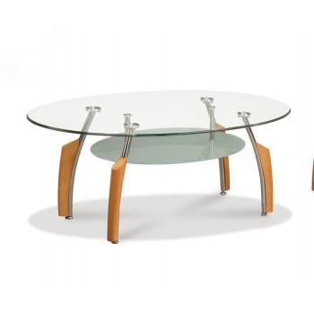 T138MC Coffee Table, Beech by Global Furniture USA