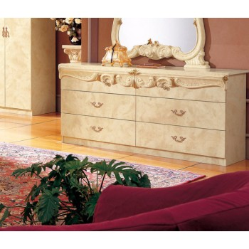 Barocco Double Dresser, Ivory