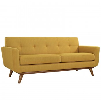 Engage Upholstered Loveseat, Citrus by Modway