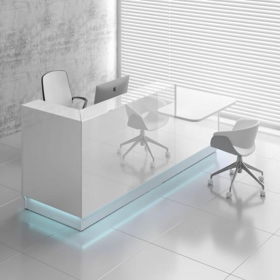 Linea LIN351L Reception Desk, White photo