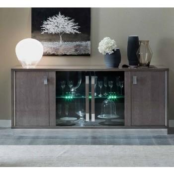 Platinum 4-Door Buffet Vitrine