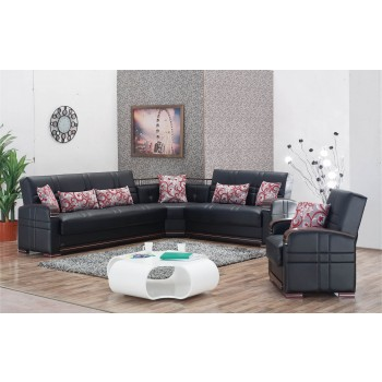 Bronx 2-Piece Sectional Set by Empire Furniture, USA