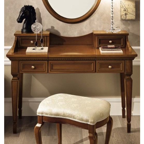 Treviso Vanity Dresser, Cherry photo
