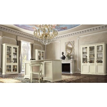 Torriani 2-Piece Office Set, Composition 5, Ivory