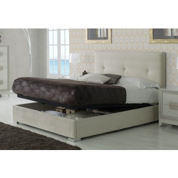 881 Lourdes Euro Full Size Storage Bed