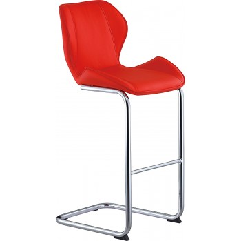 D1446BS Barstool, Red
