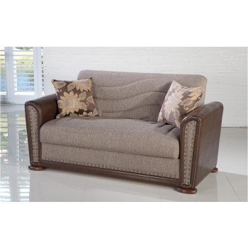 Alfa Loveseat, Redeyef Brown by Sunset International Trade