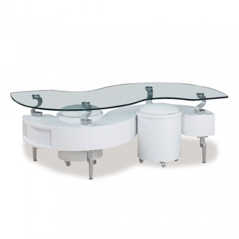 T288WHC Coffee Table, White by Global Furniture USA