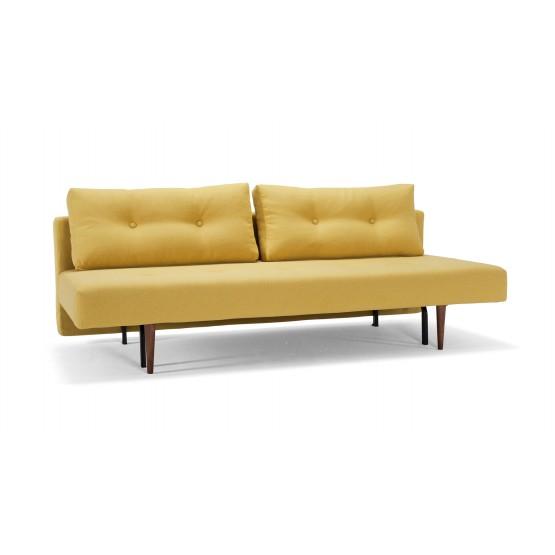 Recast Plus Sofa Bed, 554 Soft Mustard Flower Fabric photo