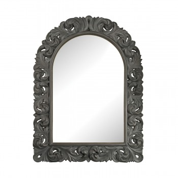 Arched Scroll Mirror