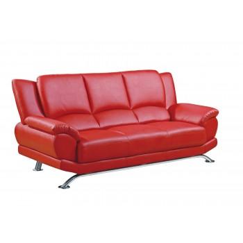 U9908 Sofa, Red by Global Furniture USA