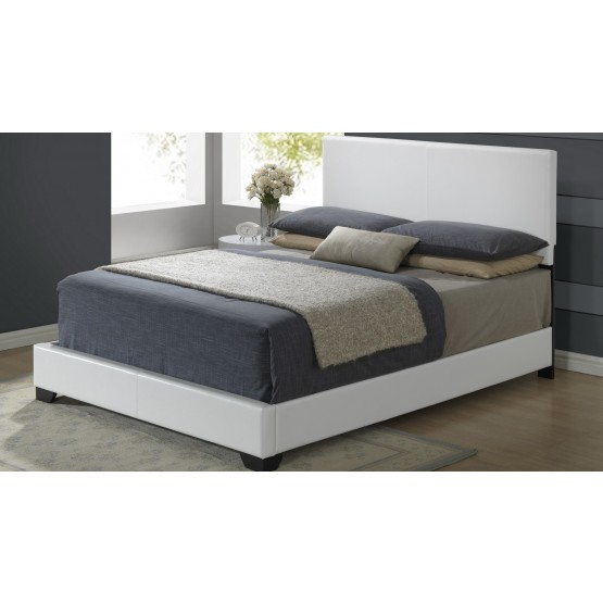 8103 Queen Size Bed, White photo