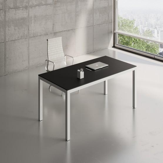 Impuls Desk IM04, White Pastel + Black photo