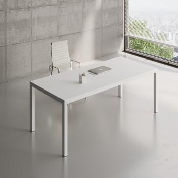 Impuls Desk IM06, All White Pastel