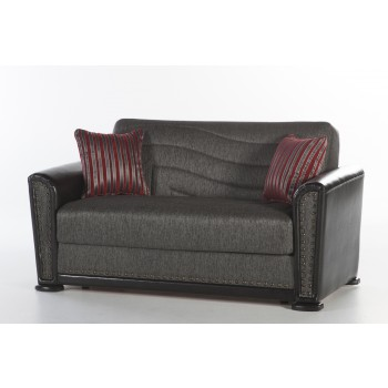 Alfa Loveseat, Redeyef Fume by Sunset International Trade