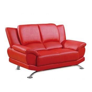 U9908 Loveseat, Red by Global Furniture USA