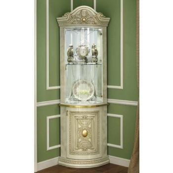 Leonardo 1-Door Corner Cabinet
