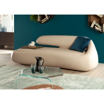 Duny Sofa, Dove Grey Eco-Leather