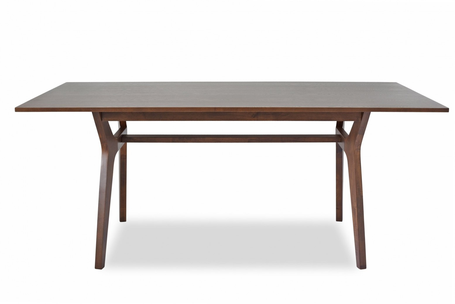 Birch Mid Century Modern Dining Table