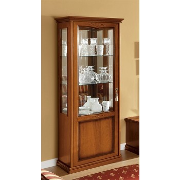 Nostalgia 1-Door Left Column, Walnut