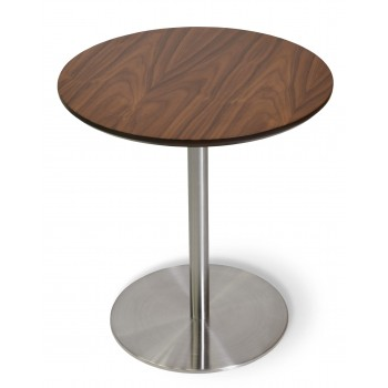 Ares End Table, Walnut by SohoConcept Furniture