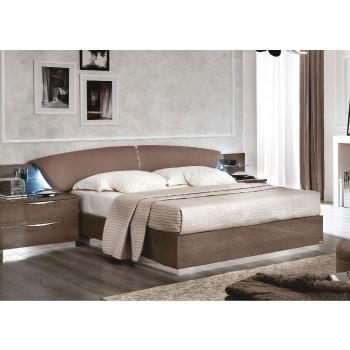 Platinum Drop Queen Size Bed