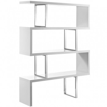 Meander Stand, White by Modway
