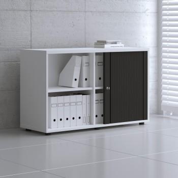 Tambour Pro Storage Unit IA2L06, White + Black Front