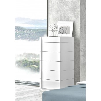Amora 6 Drawer Chest by J&M Furniture