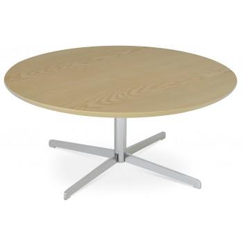Diana Coffee Table, Chrome, Ash Veneer by SohoConcept Furniture