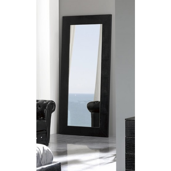 Coco E97 Standing Mirror, Black photo