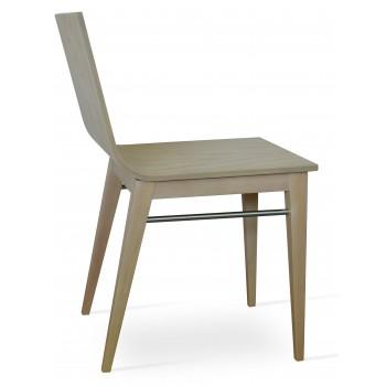 Corona Wood Dining Chair, American Natural Ash Base, Natural Ash Veneer Seat by SohoConcept Furniture