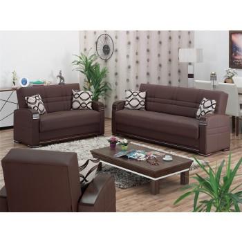 Alpine 3-Piece Living Room Set