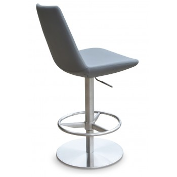 Eiffel Piston Stool, Grey PPM by SohoConcept Furniture