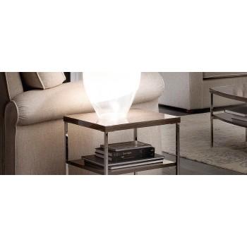 Platinum Lamp Table