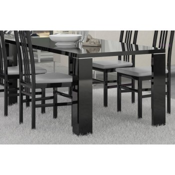 Armonia Dining Table, Black