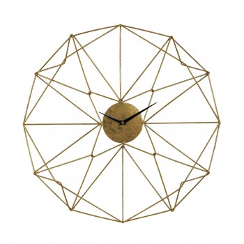 Angular Wirework Wall Clock