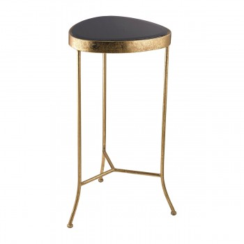 Black Onyx Side Table