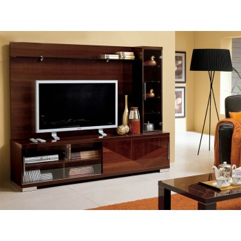 Capri Wall Unit, Walnut