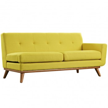 Engage Right-Arm Loveseat, Sunny by Modway
