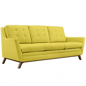 Beguile Fabric Sofa, Sunny by Modway
