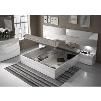 Cordoba Queen Size Bed Bed with Storage