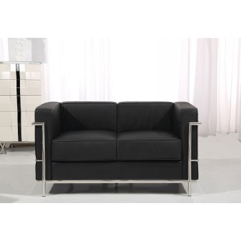 Nube Loveseat, Black