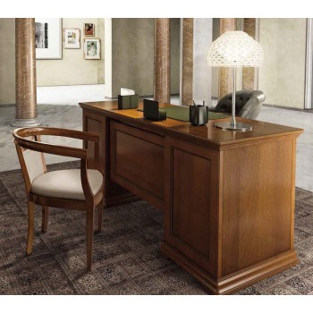 Torriani 2-Piece Office Set, Composition 3, Walnut
