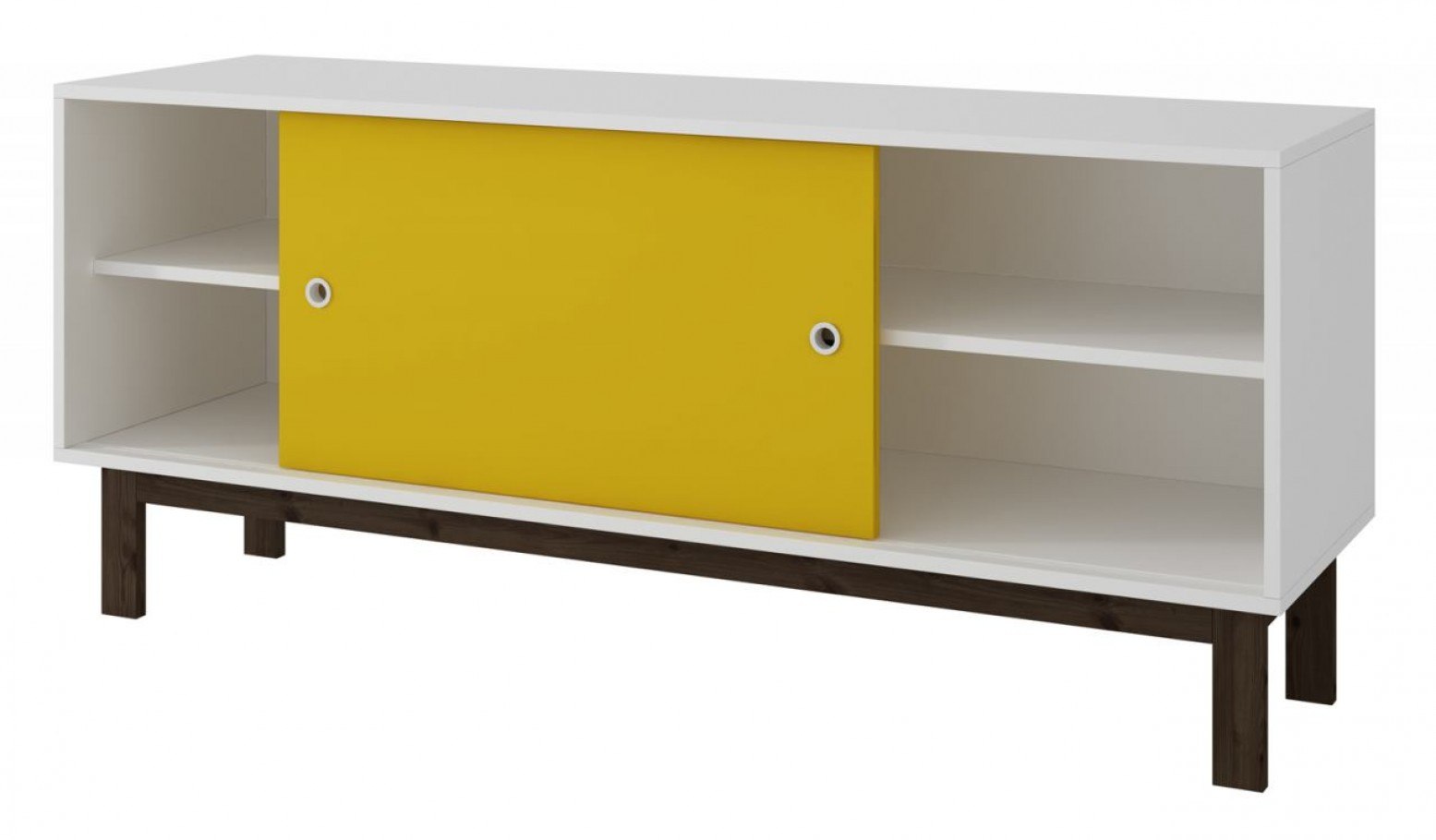 huge selection of c950a ad1ad Solna TV Stand, White + Yellow